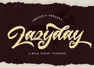 Lazyday Font