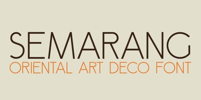 Semarang Font