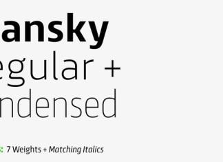 Scansky Font