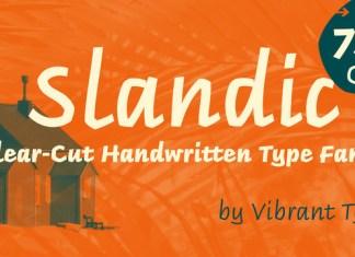 Slandic Font