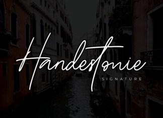 Handestonie Font