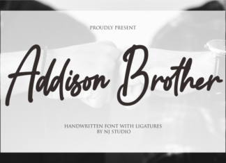 Addison Brother Font