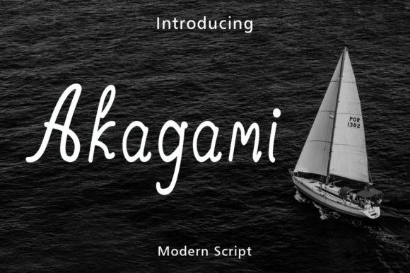 Akagami Font