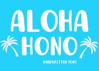 Aloha Hono Font