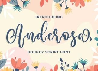 Anderosa Font