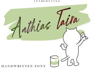 Anthias Taira Font