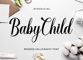 Baby Child Font