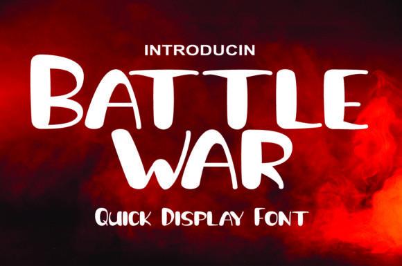 Battle War Font