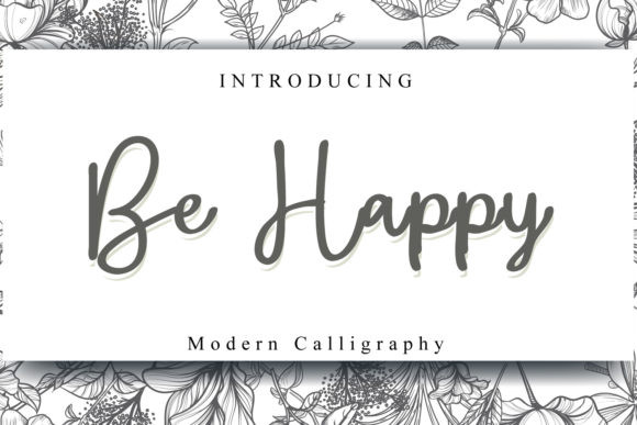 Be Happy Font