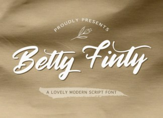 Betty Finty Font