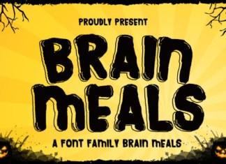 Brain Meals Font