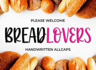 Breadlovers Font