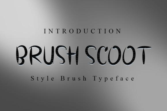 Brush Scoot Font