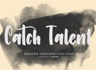 Catch Talent Font
