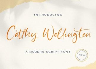 Catthy Wellingten Font