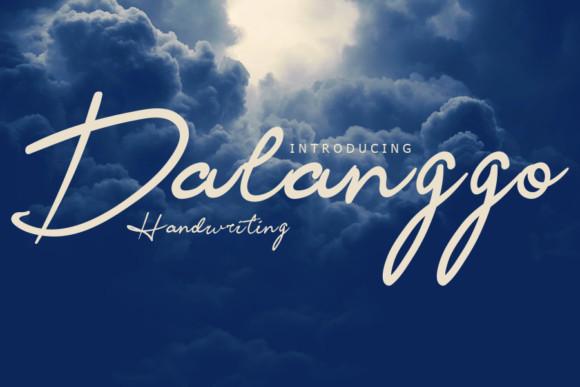 Dalanggo Font