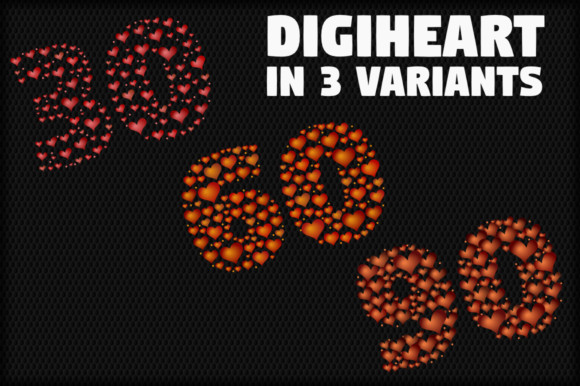 Digiheart Font