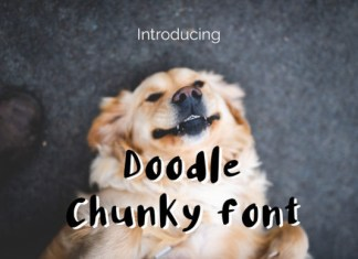 Doodle Chunky Font