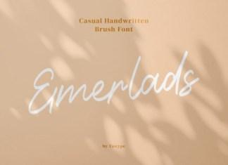 Emerlads Font
