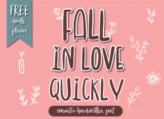 Fall in Love Quickly Font