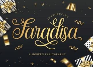 Faradisa Font