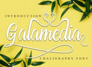 Galamedia Font