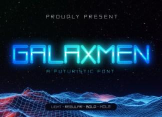 Galaxmen Font