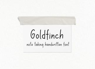 Goldfinch Font