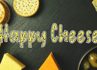 Happy Cheese Font