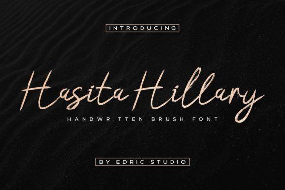 Hasita Hillary Font