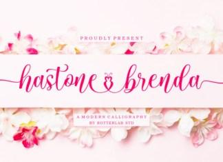 Hastone Brenda Font