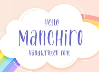 Hello Manchiro Font