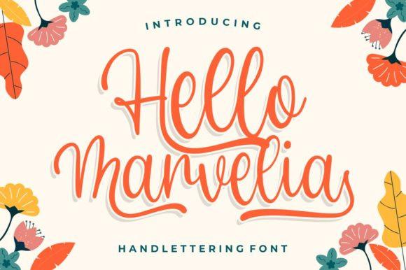 Hello Marvelia Font