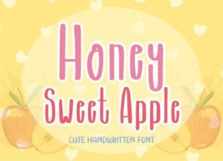 Honey Sweet Apple Font