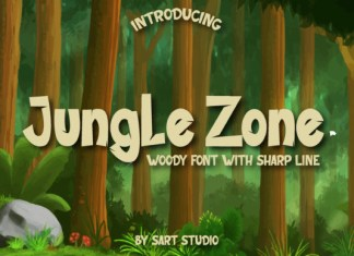 Jungle Zone Font
