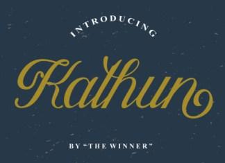 Kathun Font