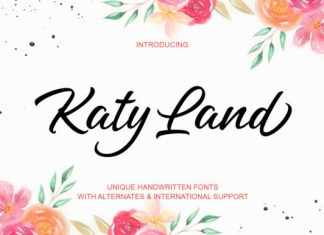 Katy Land Font