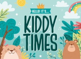 Kiddy Times Font