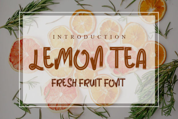 Lemon Tea Font