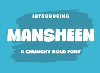 Mansheen Font