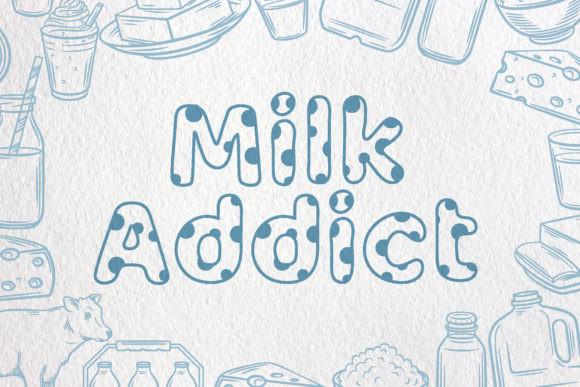 Milky Nice Font