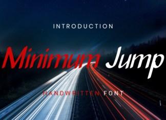 Minimum Jump Font