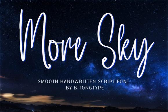 More Sky Font
