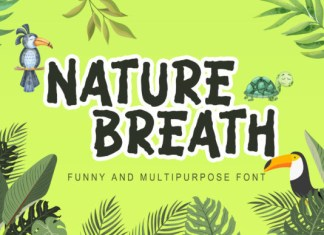 Nature Breath Font