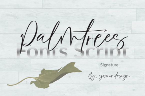 Palmtrees Font