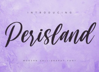 Perisland Font