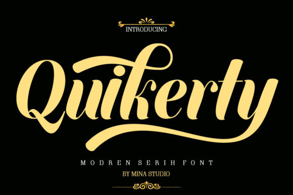 Quikerty Font