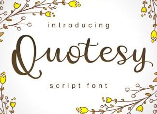 Quotesy Font