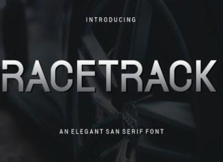 Racetrack Font