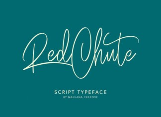 Red Chute Font